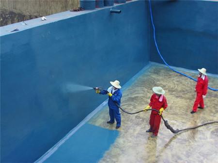 聚niaopen涂可yong于游泳池、污水池防水防漏