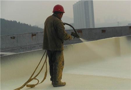 聚氨zhi设备用yu屋顶保温防水