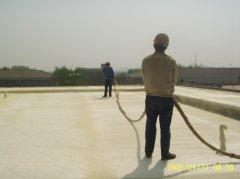 聚氨酯喷涂机用yu屋顶bao温